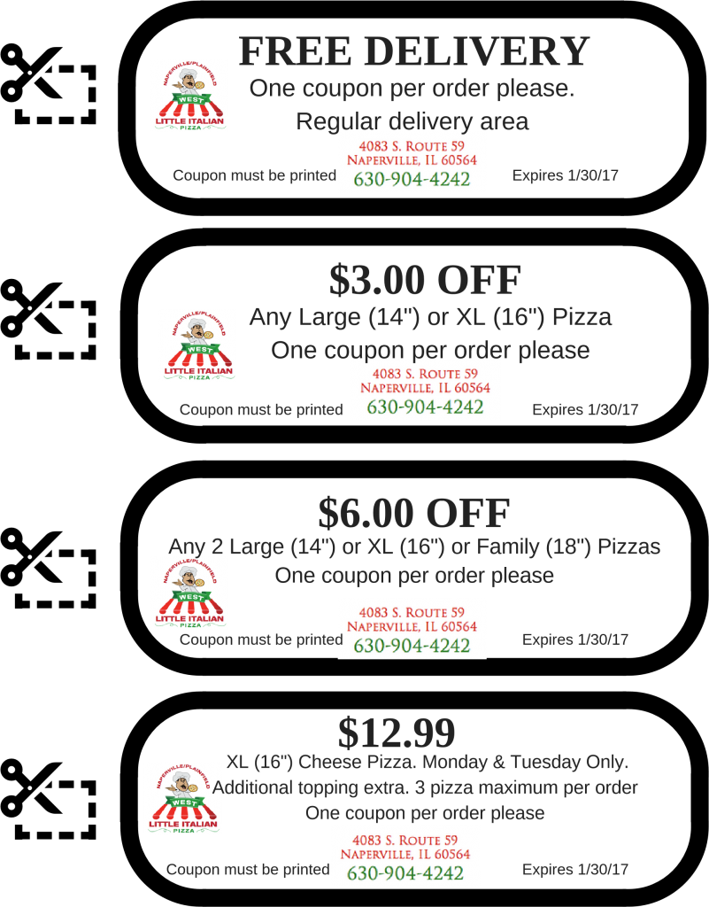 Print and use these coupons!