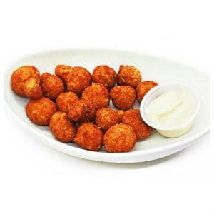 breaded mushrooms appetizer